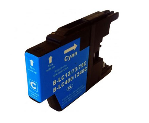 Compatible Ink Cartridge Brother LC-1220 C / LC-1240 C / LC-1280 C Cyan 16.6ml