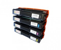 4 Compatible Toners, Kyocera TK 150 Black + Color ~ 6.000 Pages