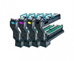 4 Compatible Toners, Konica Minolta 4539X32 Black + Color ~ 6.000 Pages