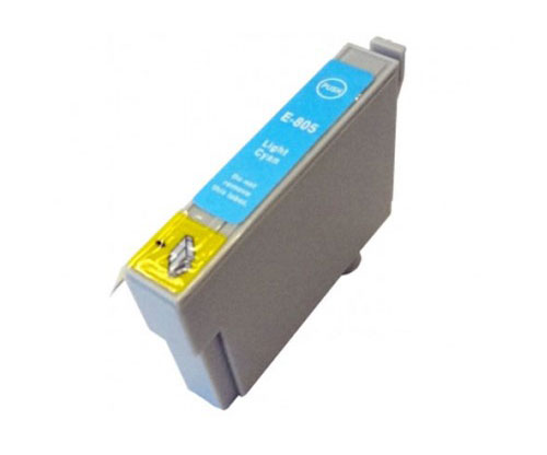 Compatible Ink Cartridge Epson T0805 Cyan bright 13ml