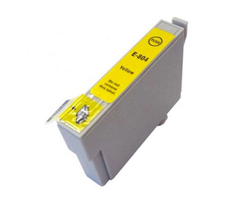 Compatible Ink Cartridge Epson T0804 Yellow 13ml