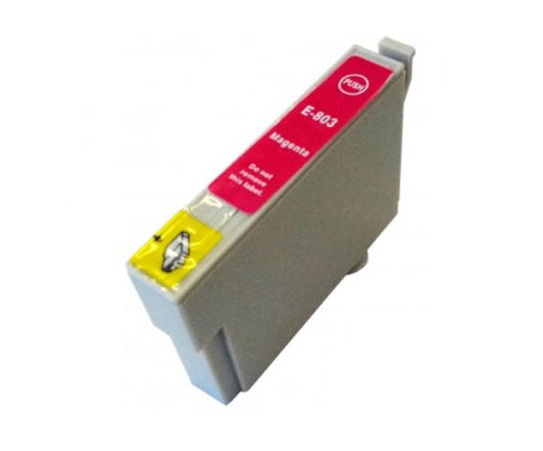 Compatible Ink Cartridge Epson T0803 Magenta 13ml