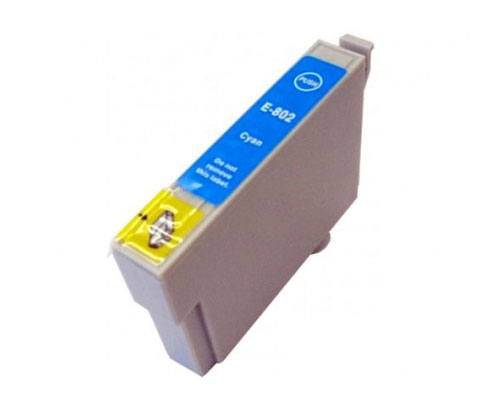 Compatible Ink Cartridge Epson T0802 Cyan 13ml