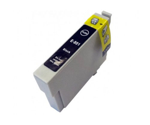 Compatible Ink Cartridge Epson T0801 Black 13ml