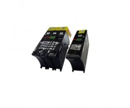 2 Compatible Ink Cartridges, DELL 21 / 22 / 23 / 24 Black 19ml + Color 30ml