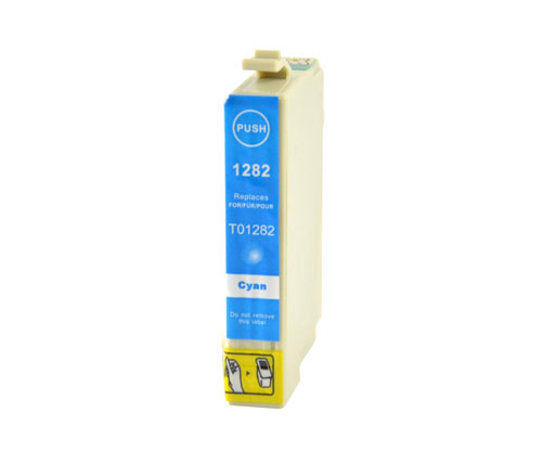 Compatible Ink Cartridge Epson T1282 Cyan 6.6ml
