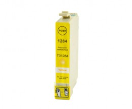 Compatible Ink Cartridge Epson T1284 Yellow 6.6ml
