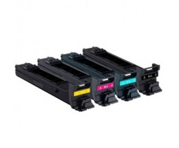 4 Compatible Toners, Konica Minolta A0DKX52 Black + Color ~ 8.000 Pages
