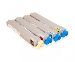 4 Compatible Toners, OKI 4291891X ~ 15.000 Pages