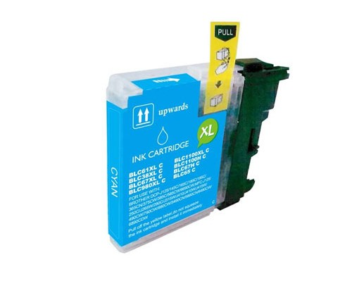 Compatible Ink Cartridge Brother LC-980 XL C / LC-1100 XL C Cyan 18ml