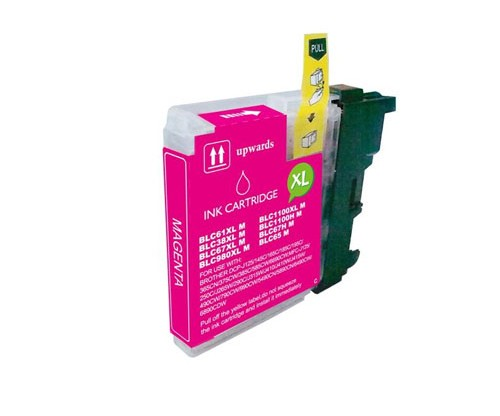 Compatible Ink Cartridge Brother LC-980 XL M / LC-1100 XL M Magenta 18ml