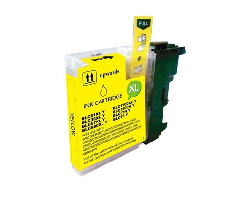 Compatible Ink Cartridge Brother LC-980 XL Y / LC-1100 XL Y Yellow 18ml