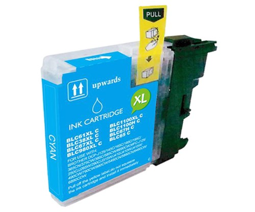 Compatible Ink Cartridge Brother LC-985 XL C Cyan 18ml