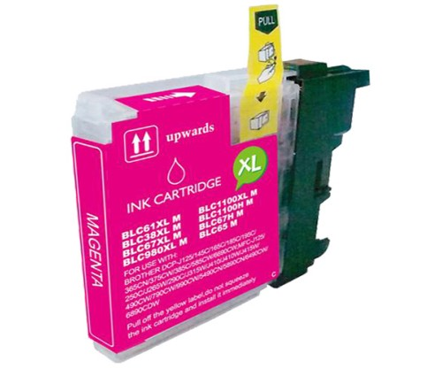 Compatible Ink Cartridge Brother LC-985 XL M Magenta 18ml