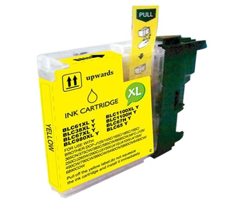 Compatible Ink Cartridge Brother LC-985 XL Y Yellow 18ml
