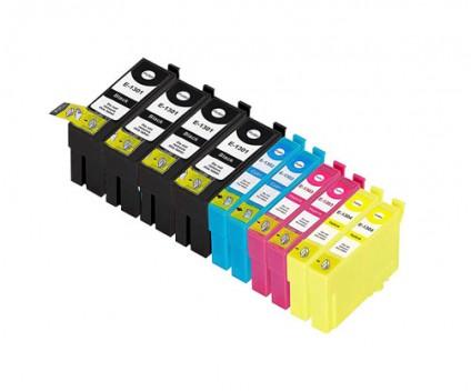10 Compatible Ink Cartridges, Epson T1301-T1304 Black 33ml + Color 14ml