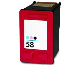 Compatible Ink Cartridge HP 58 Color Photo 18ml