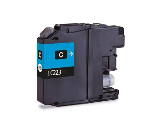Compatible Ink Cartridge Brother LC-221 C / LC-223 C Cyan 9ml