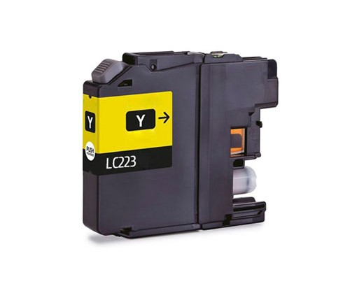 Compatible Ink Cartridge Brother LC-221 Y / LC-223 Y Yellow 9ml