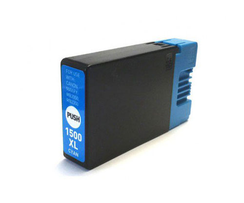 Compatible Ink Cartridge Canon PGI-1500 XLC Cyan 11.5ml