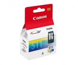Original Ink Cartridge Canon CL-511 Color 9ml ~ 244 Pages