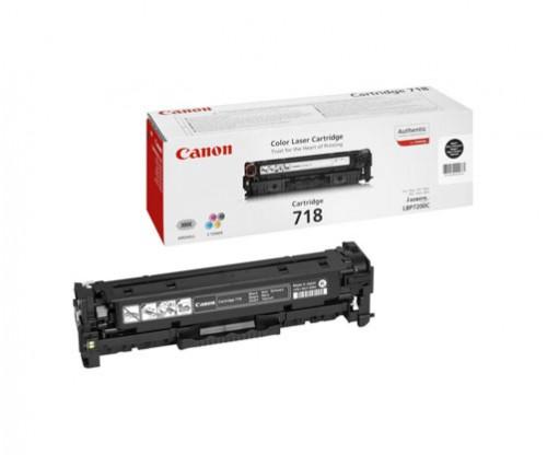 Original Toner Canon 718 Black ~ 3.400 Pages