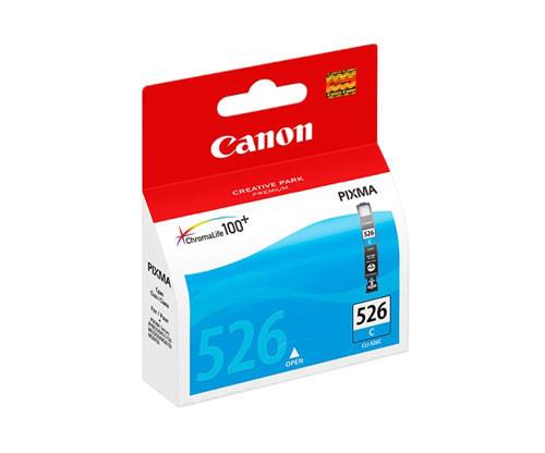 Original Ink Cartridge Canon CLI-526 Cyan 9ml ~ 500 Pages