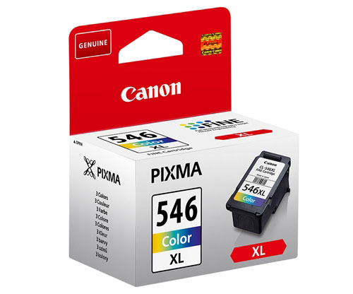 Original Ink Cartridge Canon CL-546 XL Color 13ml ~ 300 Pages