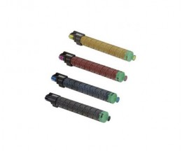 4 Compatible Toners, Ricoh 82112X Black + Color ~ 23.500 / 16.000 Pages