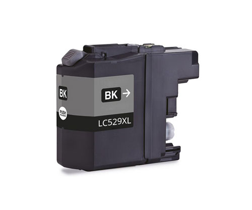 Compatible Ink Cartridge Brother LC-529 XL BK Black ~ 2.600 Pages