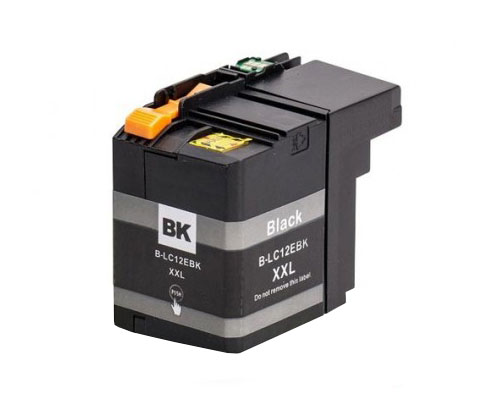 Compatible Ink Cartridge Brother LC-12E BK Black