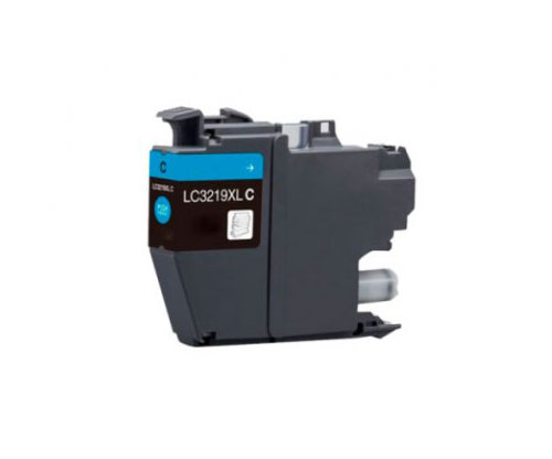 Compatible Ink Cartridge Brother LC3219XLC Cyan 18ml