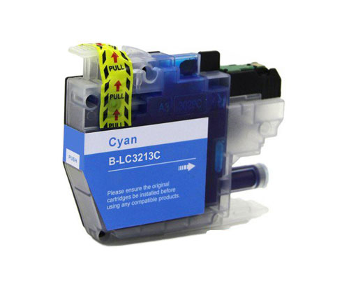 Compatible Ink Cartridge Brother LC3211 / LC3213 Cyan ~ 400 Pages