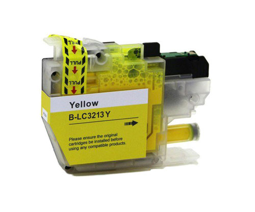Compatible Ink Cartridge Brother LC3211 / LC3213 Yellow ~ 400 Pages