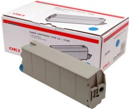Original Toner OKI 41963007 Cyan ~ 10.000 Pages