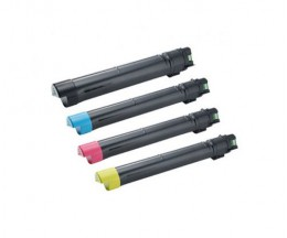 4 Compatible Toners, DELL J6DTH / 6YJGD / 8N8JV / F5Y6V Black + Color ~ 26.000 / 15.000 Pages