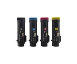 4 Compatible Toners, DELL N7DWF / 5PG7P / 3P7C4 / P3HJK Black + Color ~ 3.000 / 2.500 Pages