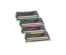 4 Compatible Toners, Lexmark C746 Black + Color ~ 12.000 / 7.000 Pages