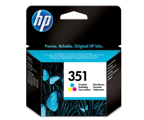 Original Ink Cartridge HP 351 Color 3.5ml ~ 170 Pages