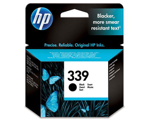 Original Ink Cartridge HP 339 Black 21ml ~ 860 Pages