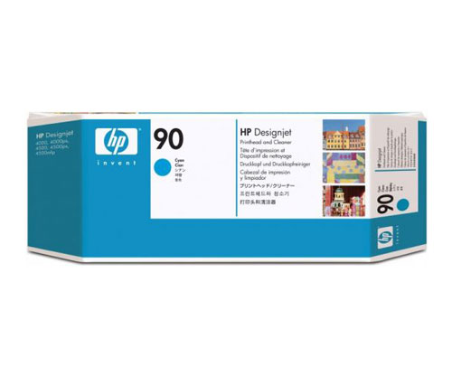 Original Ink Cartridge HP 90 Cyan 225ml