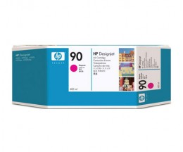 Original Ink Cartridge HP 90 Magenta 400ml