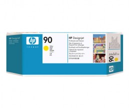 Original Ink Cartridge HP 90 Yellow 225ml