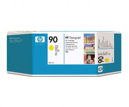 Original Ink Cartridge HP 90 Yellow 400ml