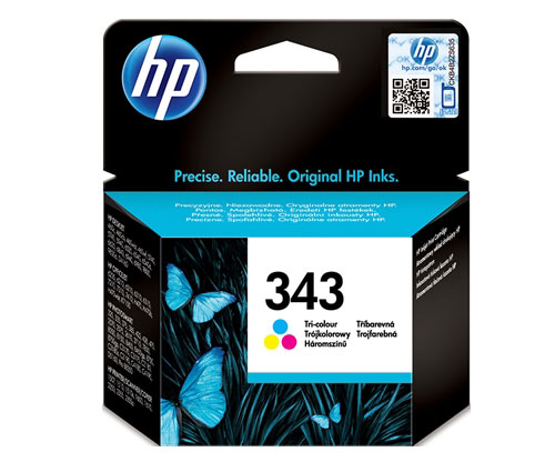 Original Ink Cartridge HP 343 Color 7ml ~ 330 Pages