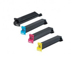 4 Compatible Toners, Konica Minolta 893870X Black + Color ~ 20.000 / 12.000 Pages