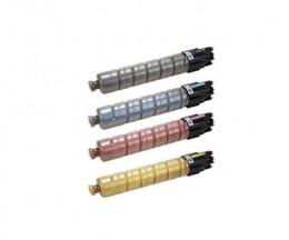 4 Compatible Toners, Ricoh 84116X Black + Color ~ 23.000 / 17.000 Pages