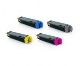 4 Compatible Toners, Kyocera TK 5160 Black + Color ~ 16.000 / 12.000 Pages