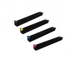 4 Compatible Toners, Sharp MX27 Black + Color ~ 18.000 / 15.000 Pages