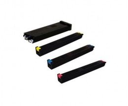 4 Compatible Toners, Sharp MX51 Black + Color ~ 40.000 / 18.000 Pages